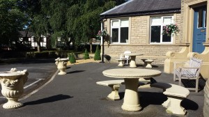 another seating area at Turfcote